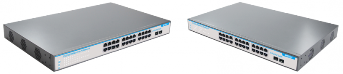 2 Uplink Power Over Ethernet POE Switch Well Compability For IP Cameras