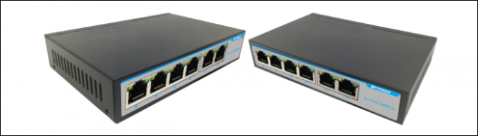 Poer Over Ethernet POE Switch 4 Ports 10 / 100M Switch ftth application