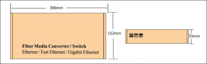 Anomaly Link Detection Power Over Ethernet Switch 8 Port 10 / 100M SFP Port  For IP Camera