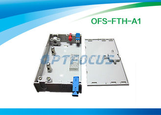 FTTH Mini Fiber Optic Terminal Box 3 SC / FC / ST Adapor 6 LC Pigtails