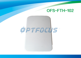 Small LightWeight 2 Holes Cable Terminal Box Indoor FTTH Customer Φ7 Φ14