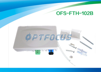 0.25 kg Fiber Termination Box Indoor Cable , Customer Mini FTTH Termination Box