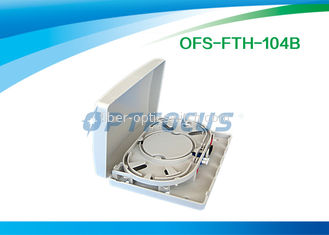 Small Wall Mount Fiber Termination Box 4 Core Lightweight 225×125×40 mm