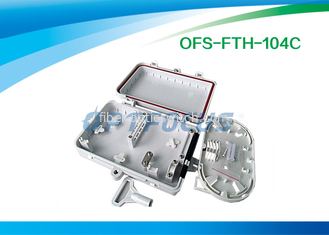 Wall Mount Fiber Termination Box 4 Core FTTH Small SC / FC / LC Connecter