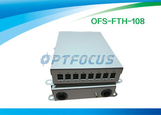 4 Core FTTH Terminal Box Wall Mount , Cable Terminal Boxes Electrical