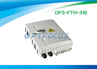 Passive Optical Network Electrical Terminal Box 16 Cores SC Adapter IP 65