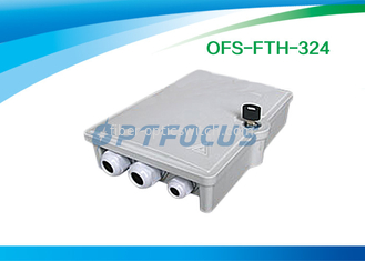 Micro Splitter Fiber Termination Box Passive Optical Points FTTH 16 SC Adapter