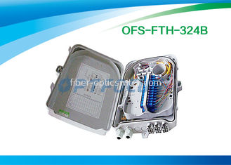 Mini Optical Fiber Termination Box 0.2dB Two 1x8 plug 62kpa - 106 kpa Atmospheric Pressure