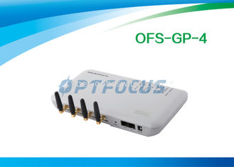 China White 4 Channel VOIP GSM Gateway supplier