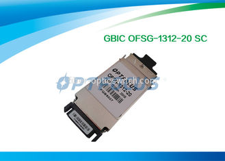 Duplex Single Mode SFP Optical Transceiver 1.25G GBIC - LX Optical Transceiver Module 1310nm 20KM SC