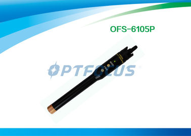 China 1mw 5mw 10mw 20mw Fiber Optic Testing Tools Visual Fault Finder Pen type 650nm ± 10nm factory