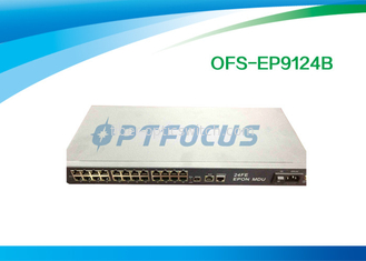 24 Ports GPON EPON FTTX FTTB MDU ONU 100Mbps  Metal Shell Tx 1310nm PC Connector