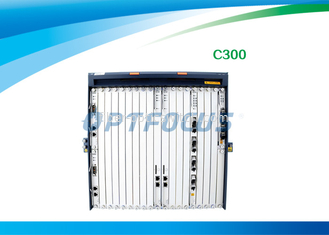 OLT C300 GPON EPON Make Mass FTTx roll-out Easier Class  B+ 20km - 60km