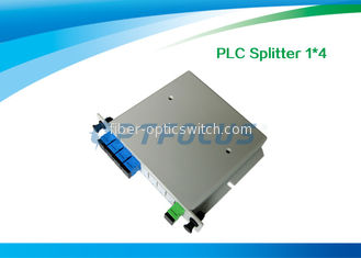 China 1x16 Fiber Optic Splitter / PLC Splitter 19'' RACK 1260nm - 1650nm PON Networks Low PDL factory