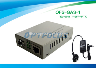 China Gigabit SFP Media Converter With 256K External Power One SFP GE Slot factory