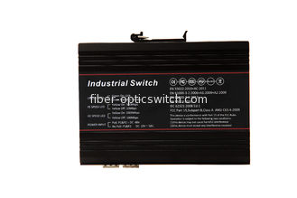 China Unmanaged 5 port industrial ethernet switch 2* 1000M FX + 3*10/100/1000M TX factory