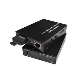 China 1000M Dual Fiber Multimode Fiber Media Converter 850nm 550m Sc Connector Metal Housing factory