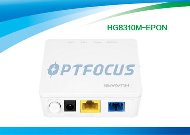 Single GE Ethernet Port Gpon Epon ONU Optical Line Terminal Equipment HG8310M White Color