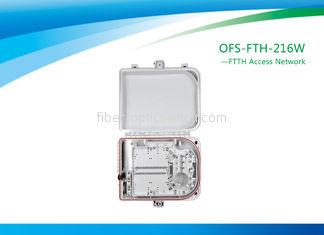 16 Ports Fiber Termination Box FTTx Access Network With White Color Outdoor