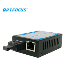 Single Mode Gigabit Media Converter 2.5W Power Consumption With 1 Years Warranty