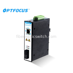 Dual Fiber SM SC Industrial Gigabit Switch For Urban Intelligent Traffic Monitoring System