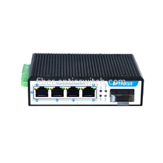 4 Port Industrial Ethernet Switch , 100M Hardened  Power Over Ethernet Switch