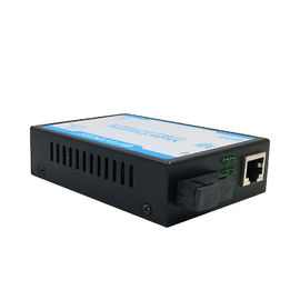 Durable 100 BASE -T Fiber Media Converter Single Mode Supporting 1552 Bytes Packet