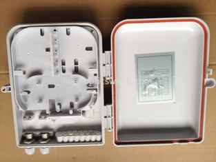 China IP66 waterproof and rain resistant 16 port fiber optic FTTH terminal box wall mount distribution box supplier