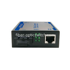 SM 20KM Fiber Optic Media Converter 1 Port 1000M Auto Negotiation With POE Function