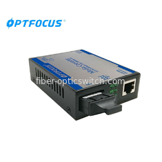 China 1310nm 10 / 100M Dual Fiber Media Converter SC External Power , 80Km factory