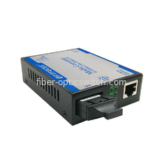 China Dual Fiber Media Converter SM 10 / 100M 1310nm 40Km SC External Power factory