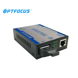 China Gigabit Fiber Optical Media Converter 10 / 100 / 1000M 40Km 1310nm factory