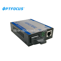 China Fiber Optic Converters 10 / 100 / 1000 Base - Tx To 1000 Base 60Km 1310nm SM factory