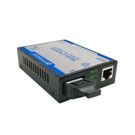 China Dual Mode Dual Fiber RJ45 Fiber Media Converter , With LFP Function factory