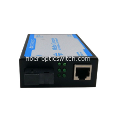 China Gigabite 120Km SC fiber optic media converter External PS CE FCC factory