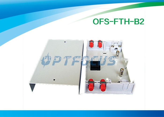 Small ROHS Fiber Termination Box 6 Pigtail LC Plastic Network Termination Box 152x107x31 mm