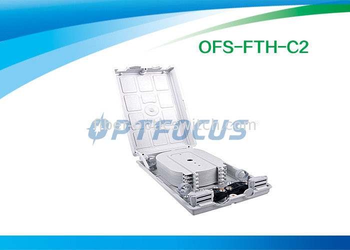 Waterproof FTTH Mini Optical Fiber Termination Box 12 Outlet Pigtail supplier
