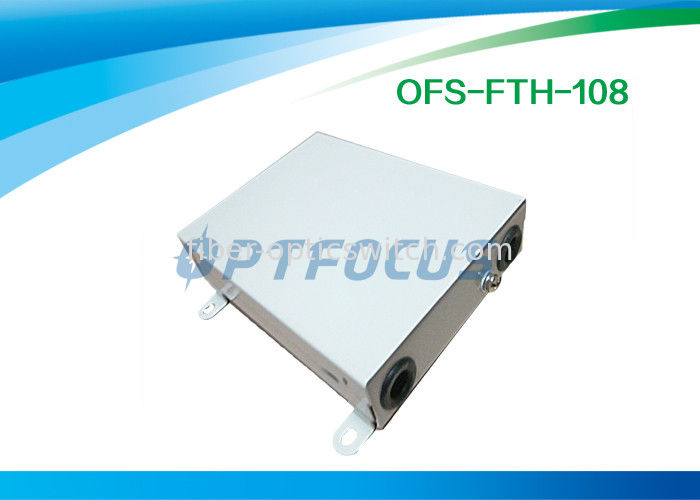 4 Core FTTH Terminal Box Wall Mount , Cable Terminal Boxes Electrical supplier