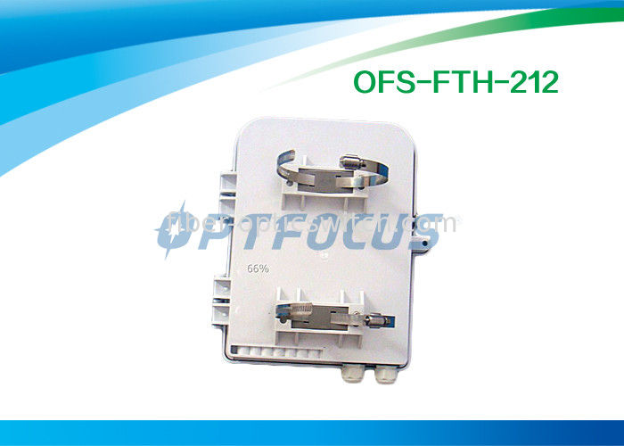 12mm Fibre Optic Termination Box 1×8 1×12 PLC Splitter SC Adapter CATV Networks supplier