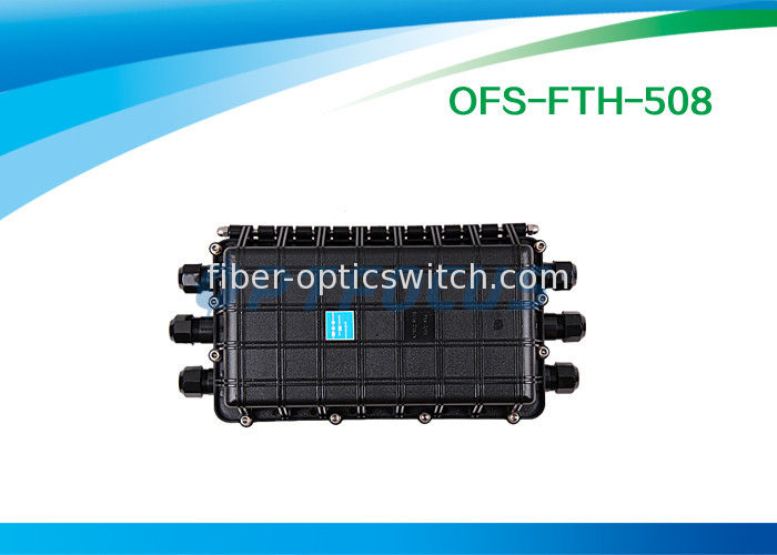 72 Cores Fiber Optic Enclosures Wall Mount 6 Port Horizontally Mechnical Seal supplier