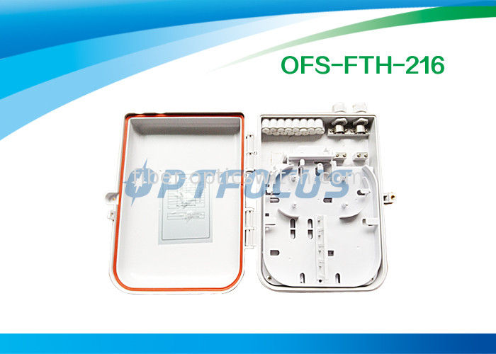 Outdoor 16 ports Fiber Termination Box SC Adapter FTTH Access Network