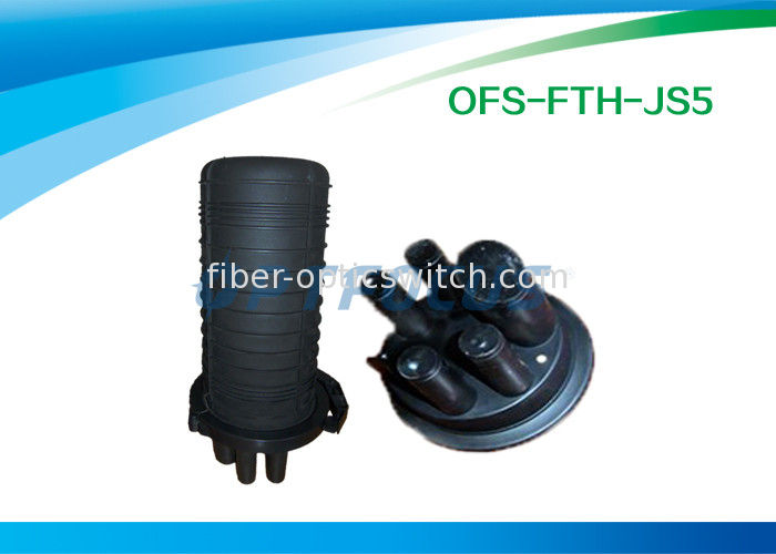 Black 6 Splicing Fiber Optic Cable PC for Aerial / Buried / Pipe supplier