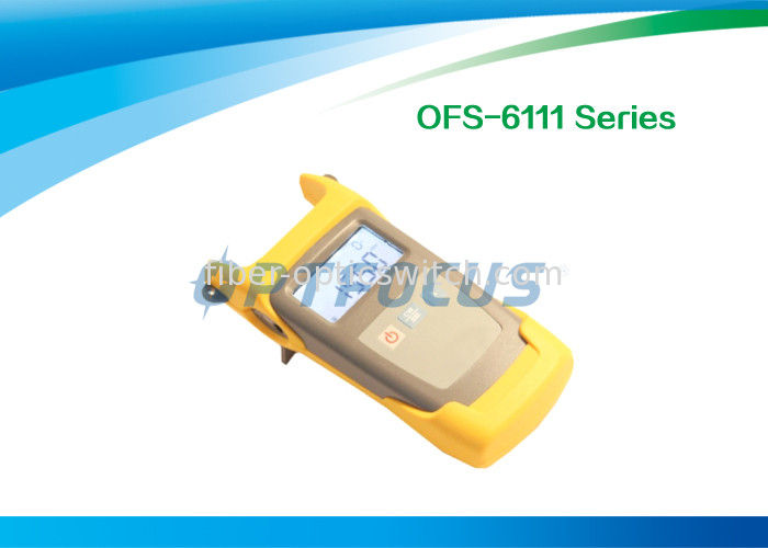 CATV Manual Fiber Testing Tools Light Source Output 1310nm 1550nm Wavelength