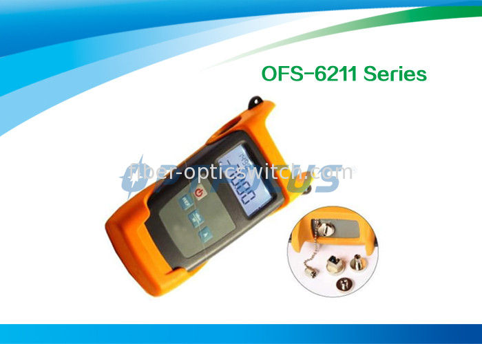 Fiber Testing Tools Handheld Optical Light Source OFS-6211 800nm - 1700nm supplier