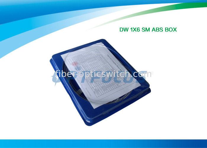 ABS 6 Way Optical Splitter Fiber Splitting FBT 1x6 1x8 1x32 DWDM Low