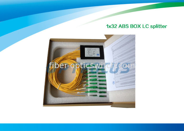 1310nm 1550nm Fiber Optic Splitter 1×32 FBT Coulper ABS SM DW CATV distribution supplier