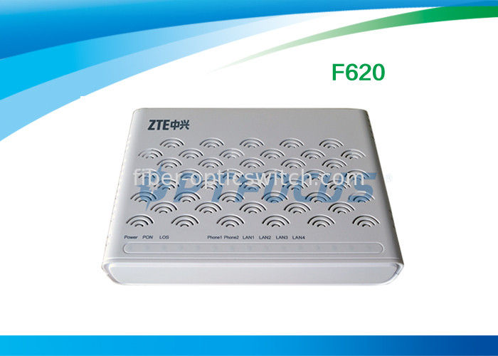 F620 GPON ONU English Firmware 4 LAN Ports 2 POTS SIP DHCP for multiple supplier