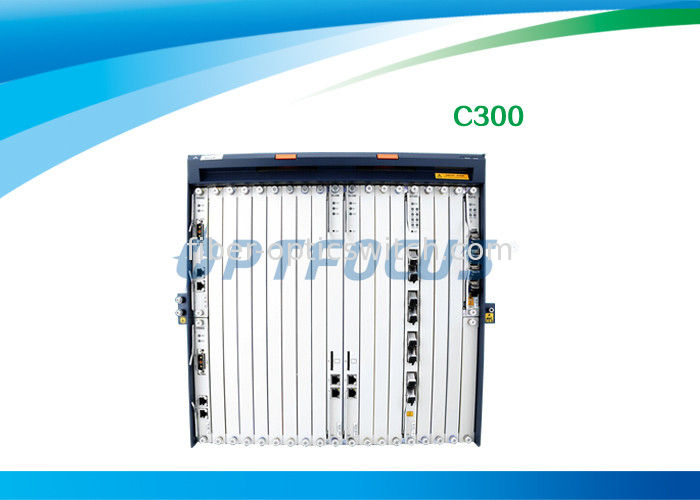 OLT C300 GPON EPON Make Mass FTTx roll-out Easier Class  B+ 20km - 60km supplier