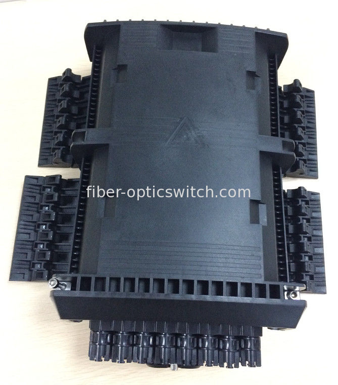 IP68 4 trays fiber enclosure wall mount or poled mounted 16 or 24 ports supplier