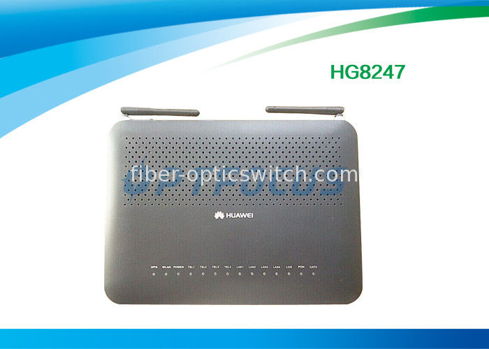 Huawei Echolife HG8247 wireless GPON ONU apply to FTTO or FTTH modes with WIFI / CATV port supplier